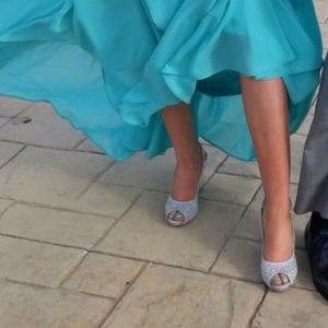 Formal glitter high heels!!